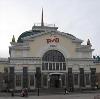 Железнодорожные вокзалы в Верхнем Баскунчаке