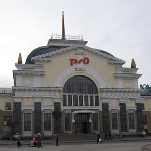 Железнодорожные вокзалы Верхнего Баскунчака